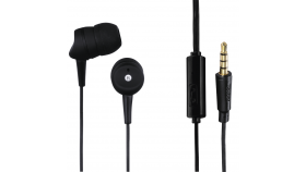 Слушалки HAMA Basic 4Phone,Микрофон, In-Ear, Черен
