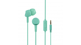 Слушалки HAMA Basic 4Phone,Микрофон, In-Ear, светло зелени