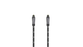 Оптичен аудио кабел HAMA ODT plug (Toslink), метал, 1.5 м