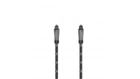 Оптичен аудио кабел HAMA ODT plug (Toslink), метал, 3 м