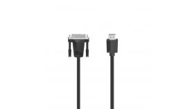Кабел  DVI-I Dual Link мъжко- HDMI мъжко, Ultra-HD, 4K, 1.5м, черен