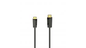 Кабел HAMA HDMI мъжко - mini HDMI мъжко, 1.5 м, позл.конектори