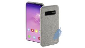 "Гръб HAMA ""Cozy"" за Samsung Galaxy S10, светло сив"