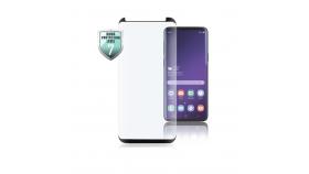 Стъклен протектор HAMA Full Screen за Samsung Galaxy S10е, черен