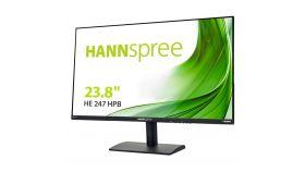 Монитор HANNSPREE HE247HPB, TFT, 23.8 inch, Whide, Full HD, D-Sub, HDMI, Черен