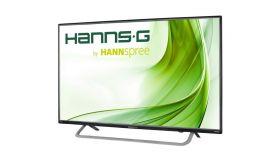 Монитор HANNSPREE HL407UPB, IPS, 39.5 inch, Wide, Full HD, D-Sub, HDMI, USB Media Player, Черен