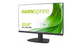 Монитор HANNSPREE HS 248 PPB, LED, 23.8 inch, Wide, Full HD, VGA, HDMI, Display Port 1.2, Черен