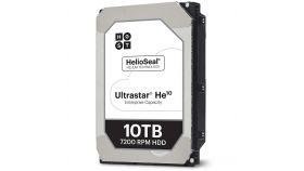 HDD Server HGST Ultrastar HE10 (3.5'', 10TB, 256MB, 7200 RPM, SATA 6Gb/s). SKU: 0F27454