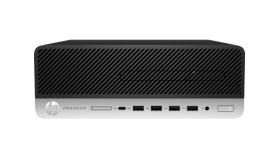 HP ProDesk 600 G4 SFF PC Intel Core i3-8100 3.6 4C 65W 4GB (1x4GB) DDR4 2666 500GB 7200 3.5 KBD MUS Win 10 Pro 64
