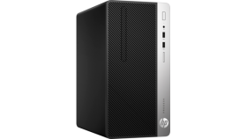 HP ProDesk 400 G6 MT Intel® Core™ i5-9500 with Intel® UHD Graphics 630 (3 GHz up to 4,4 GHz with Intel® Turbo Boost,9 MB cache, 6 cores) 8 GB DDR4-2666 SDRAM (1 x 8 GB) 256-GB PCIe® NVMe™ SSD DVD/RW,Windows 10 Pro,1 year warranty