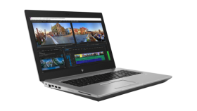HP ZBоок 17 G5 Intel® Core™ i7-8850H vPro™ processer with Intel® UHD Graphics 630 (2.6 GHz base frequency, up to 4.3 GHz with Intel® Turbo Boost Technology, 9 MB cache, 6 cores)  32 GB DDR4-2666 SDRAM (2 x 16 GB) 512 GB PCIe® NVMe™ SSD HDD  17.3 diag