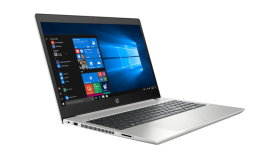 "HP ProBook 450 G6 Intel® Core™ i5-8265U with Intel® UHD Graphics 620 (1.6 GHz base frequency, up to 3.9 GHz with Intel® Turbo Boost Technology, 6 MB cache, 4 cores) 15.6"" diagonal FHD IPS anti-glare LED-backlit, 220 cd/m?, 45% sRGB (1920 x 1080) 8 GB"