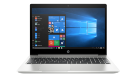 """HP ProBook 450 G6 Intel® Core™ i5-8265U with Intel® UHD Graphics 620 (1.6 GHz base frequency, up to 3.9 GHz with Intel® Turbo Boost Technology, 6 MB cache, 4 cores) 15.6"""" diagonal FHD IPS anti-glare LED-backlit, 220 cd/m?, 45% sRGB (1920 x 1080) 8 GB"""