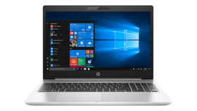 """HP ProBook 450 G6 Intel® Core™ i7-8565U with Intel® UHD Graphics 620 (1.8 GHz base frequency, up to 4.6 GHz with Intel® Turbo Boost Technology, 8 MB cache, 4 cores) 15.6"""" diagonal FHD IPS anti-glare LED-backlit, 220 cd/m?, 45% sRGB (1920 x 1080) 16 G"""