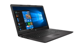 HP 250G7 Intel® Core™ i3-7020U  (2.5 GHz base frequency, up to 3.1 GHz with Intel® Turbo Boost Technology, 3 MB cache, 2 cores)  15 HD AG NVIDIA® GeForce® MX110 (2 GB DDR5 dedicated) 4 GB DDR4-2133 SDRAM (1 x 4 GB) 1TB HDD 5400 rpm SATA DVD/RW HP Lon