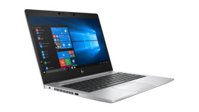 """HP EliteBook 830G6  Intel® Core™ i7-8565U with Intel® UHD Graphics 620 (1.8 GHz base frequency, up to 4.6 GHz with Intel® Turbo Boost Technology, 8 MB cache, 4 cores) 13.3"""" FHD IPS anti-glare WLED-backlit, 400 nits,(1920 x 1080) 16 GB DDR4-2400 SDRAM"""