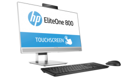 "HP Elite One 800 G4E AiO Intel® Core™ i5-8500 with Intel® UHD Graphics 630 (3 GHz base frequency, up to 4.1 GHz with Intel® Turbo Boost Technology, 9 MB cache, 6 cores) 8 GB DDR4-2666 SDRAM (1 X 8 GB) 256 GB PCIe® NVMe™ SSD DVD/RW 23.8"" diagonal FHD"