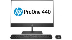 """HP 440G4 AiO NoneTouch Intel® Core™ i5-8500T mit Intel® UHD-Graphics 630 (2,1 GHz base frequensy, up to 3,5 GHz with Intel® Turbo Boost-Technology, 9 MB Cache, 6 Cores)  8 GB DDR4-2666 SDRAM (1 x 8 GB) 256 GB PCIe® NVMe™ SSD DVD/RW 23.8"""" diagonal FHD"""