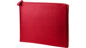 HP 13.3 Spectre Red L-Zip Sleeve