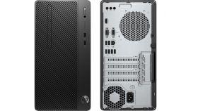 HP 290G1 MT Intel® Core™ i3-8100 with Intel® UHD Graphics 630 (3.6 GHz, 6 MB cache, 4 cores) 4 GB DDR4-2666 SDRAM (1 X 4 GB) 1 TB SATA HDD 7200 rpm SATA DVD/RW,FreeDOS,1 Year warranty