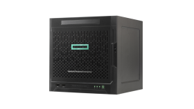 HPE ProLiant MicroServer G10,Opteron X3216, 8GB-U, 4LFF NHP SATA, 200W PS, Entry Server
