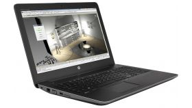 "HP ZBook 15 G4, Core i7-7700HQ Quad(2.8Ghz, up to 3.8Ghz/6MB/4 Cores), 15.6"" FHD UWVA + WebCam, 16GB 2400Mhz 1DIMM, 512GB Turbo Drive SSD, 500GB HDD 7200rpm, 8265a/c, BT, NVIDIA Quadro M2200M 4 GB DDR5, FPR, Backlit Kbd, 9C Long Life Batt, Win 10 Pro"