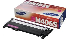 Консуматив Samsung CLT-M406S Magenta Toner Crtg (up to 1 000 A4 Pages at 5% coverage)* CLP-360/CLP-365 CLX-3300/CLX-3305/ C410W C460W C460FW