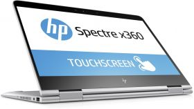HP Spectre x360  Intel Core i5-8250U quad 8GB LPDDR3 on-board 256GB PCIe Intel HD Graphics - UMA  Touch 13.3 FHD Brightview ultraslim IPS   Windows 10 Home Natural silver - FHD IR camera ,1 year warranty