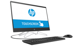 """HP 24 AiO PC Intel® Core™ i7-8700T (2,4 GHz up to 4 GHz with Intel® Turbo Boost, 12 MB cache, 6 cores) 8 GB DDR4-2400 SDRAM (1 x 8 GB) 512 GB PCIe® NVMe™ M.2 SSD DVD/RW 23,8""""FHD IPS TOUCH display narow bazel WLED подсветка (1920 x 1080) NVIDIA® GeFor"""
