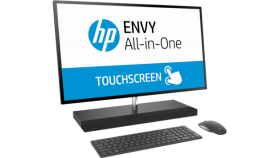"HP ENVY  All-in-One Intel® Core™ i7-8700T (2,4 GHz up to 4 GHz with Intel® Turbo Boost, 12 MB cache, 6 cores) 8 GB DDR4-2666 SDRAM (2 x 4 GB) 512 GB PCIe® NVMe™ M.2 SSD&1 TB 7200 rpm SATA HDD 27"", 4K (3840 x 2160) IPS eDP touch WLED NVIDIA® GeForce®"