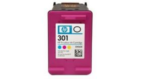 Консуматив HP 301 Standard Original Ink Cartridge; Tri-Color;  Page Yield 165; HP DeskJet 1000; 1010; 1050; 2000; 2050; 2540; 3000; 3050; 3054; 2620; 4500