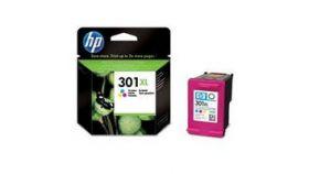 Консуматив HP 301XL Value Original Ink Cartridge; Tri-Color;  Page Yield 330; HP DeskJet 1000; 1010; 1050; 2000; 2050; 2540; 3000; 3050; 3054; 2620; 4500