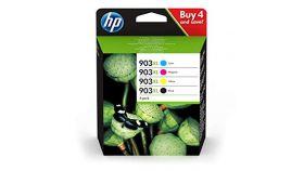 HP 903XL 4-Pack Ink C/M/Y/K