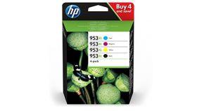 HP 953XL 4-Pack Ink C/M/Y/K