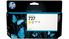 Консуматив HP 727 130 ml Standard Original Ink Cartridge; Yellow;  ; HP DesignJet T920, T930, T1500, T1530, T2500, T2530