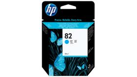 Консуматив HP 82 Standard Original Ink Cartridge; Cyan;  ; HP DesignJet 10, 20, 50, 120, 500, 510, 800