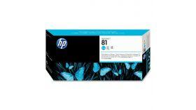 Консуматив HP 81 Standard Print Head; Cyan;  ; HP DesignJet 5000, 5500