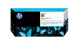 Консуматив HP 81 Standard Print Head; Yellow;  ; HP DesignJet 5000, 5500