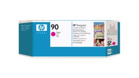 Консуматив HP 90 Standard Original Ink Cartridge; Magenta;  ; HP DesignJet 4000, 4020, 4500, 4520