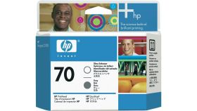 Консуматив HP 70 Standard 1-Pack Original Ink Cartridge; Grey + Gloss Enhancer;  ; HP DesignJet Z3100, Z3200