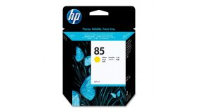 Консуматив HP 85 Standard 1-Pack Original Ink Cartridge; Yellow 28 ml;  ; HP DesignJet 30, 90, 130