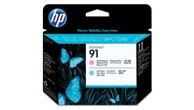 Консуматив HP 91 Standard 1-Pack Original Ink Cartridge; Magenta + Yellow 2500 ml;  ; HP DesignJet Z6100
