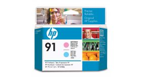 Консуматив HP 91 Standard 1-Pack Original Ink Cartridge; Light Magenta + Light Cyan 2500 ml;  ; HP DesignJet Z6100