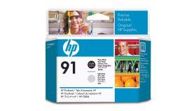 Консуматив HP 91 Standard 1-Pack Original Ink Cartridge; Photo Black +  Light Grey 2500 ml;  ; HP DesignJet Z6100