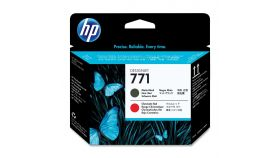 Консуматив HP 771 Standard 1-Pack Original Ink Cartridge; Matte Black + Chromatic Red ;  ; HP DesignJet Z6200