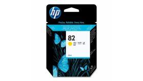 Консуматив HP 82 Standard 1-Pack Original Ink Cartridge; Yellow 25 ml;  ; HP Designjet 510; 500; 800