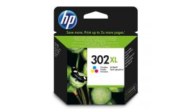 Консуматив HP 302XL Value Original Ink Cartridge; Tri-Color;  Page Yield 330;  HP DeskJet 1110 ; 2130 All-in-One; 3630;  HP ENVY 4520 All-in-One Printer; HP OfficeJet 3830/ 4650;