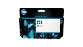 Консуматив HP 728 Standard 1-Pack Original Ink Cartridge; Cyan 130 ml;  ; HP DesignJet T730, T830