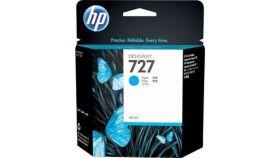 Консуматив HP 727 Standard 1-Pack Original Ink Cartridge; Cyan 300 ml;  ; HP DesignJet T920, T930, T1500, T1530, T2500, T2530
