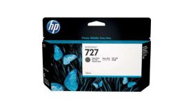 Консуматив HP 727 Standard 1-Pack Original Ink Cartridge; Photo Black 300 ml;  ; HP DesignJet T920, T930, T1500, T1530, T2500, T2530